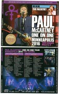 5 мая 2016: Пол Маккартни выступил с концертом в Target Center, Minneapolis