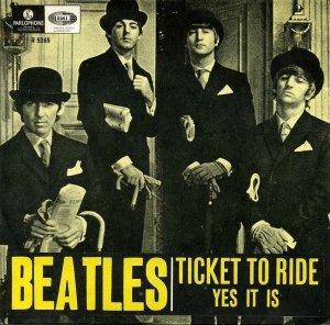 5 мая 1965  Ticket To Ride номер 1, четвёртую неделю (UK New Musical Express chart).