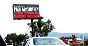 5 мая 2012: Пол Маккартни выступил с концертом на стадионе Estadio Omnilife, Гвадалахара, Мексика