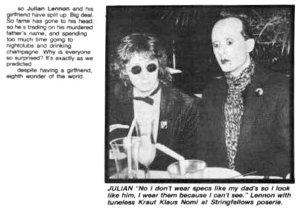 Julian Lennon / Джулиан Леннон.