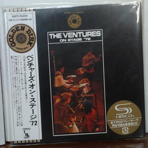 The Ventures On Stage '72 (UICY-76355)
