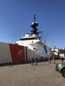 Odessa USCGC Hamilton 🇺🇸