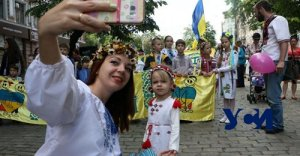 Как отмечали в Одессе День вышиванки