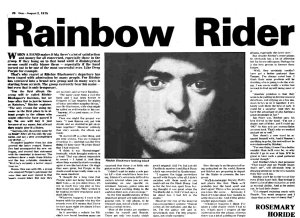 Disc 2 August 1975