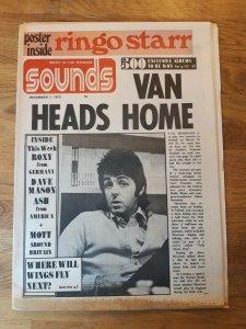 Sounds  01 декабря 1973