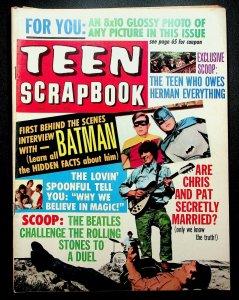 Teen Scrapbook  июль 1966