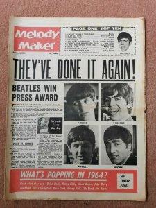 Melody Maker  4 января 1964