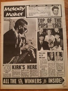 Melody Maker  21 сентября 1963