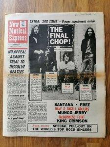 New Musical Express  1 мая 1971