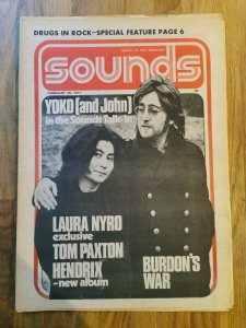 Sounds  20 февраля 1971