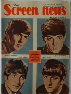 SCREEN NEWS  8 мая 1964