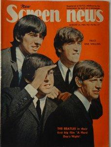 SCREEN NEWS  14 августа 1964