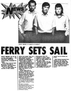 Record Mirror 31 July 1982