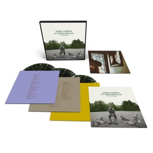 The 3LP (180g) E-Commerce exclusive edition is pressed on green and black splatter color vinyl and contained in a slim box