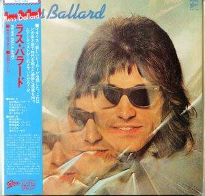 Russ Ballard: Russ Ballard. {Japanese Limited Edition Paper Sleeve Reissue & Remastered CD}.