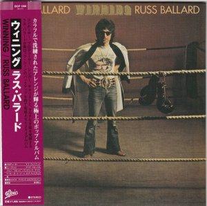 Russ Ballard: Winning. {Japanese Limited Edition Paper Sleeve Reissue & Remastered CD}.