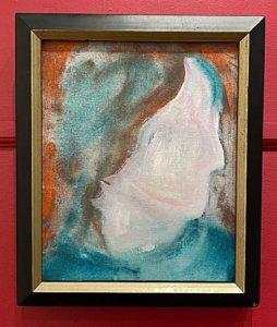 Картина Дэвида Боуи, найденная в благотворительном магазине Онтарио,