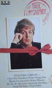 На сей раз, я думаю, беспокоиться о политической подоплёке фильма о Маккартни не стОит, ибо The Paul McCartney Special выпущен на BBC в 1986 году и был приурочен к выходу Press To Play. Именно с этого фильма и возникла у Пола практика одновременного выпуска нового альбома и документального видеоряда о работе над ним.