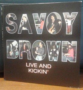 Savoy Brown - Live And Kickin' (AK 194)