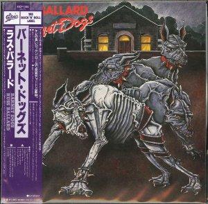 Russ Ballard: Barnet Dogs. {Japanese Limited Edition Paper Sleeve Reissue & Remastered CD}.