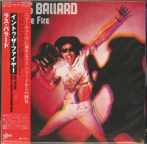 Russ Ballard & The Barnet Dogs: Into The Fire. {Japanese Limited Edition Paper Sleeve Reissue & Remastered CD}.