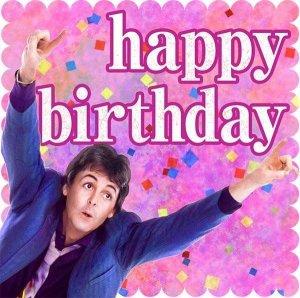 Happy Birthday, DEAR PAUL!!!