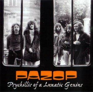 PAZOR (Prog.Rock,Fusion,Canterbury Scene-Belgium)1972Psychillis Of A Lunatic Geniuns