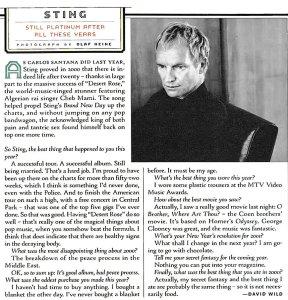Rolling Stone 14 December 2000
