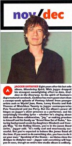 Rolling Stone 27 December 2001
