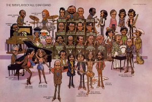 1970 год. Топ музыкантов по версии журнала Playboy