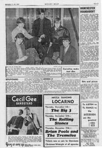 Mersey Beat, Vol.3, No.62, December 5-19, 1963 #2