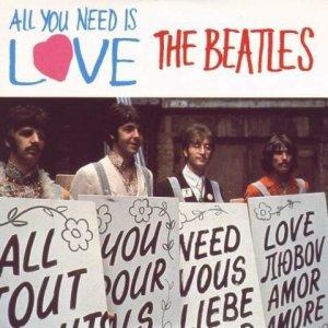 2 августа 1967 All You Need Is Love номер 1, третью и последнюю неделю (UK Record Retailer)