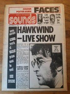 Sounds  2 сентября 1972
