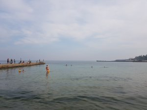 На море в прошлую субботу