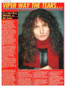 Record Mirror 20 November 1982