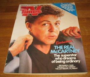TV Times  21-27 ноября 1987