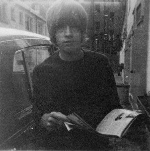 Brian Jones at 7 Elm Park Lane, London,1966  #4
