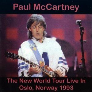 27 сентября 1993 Paul выступает с концертом в зале Spektrum, Осло, Норвегия (The New World Tour).