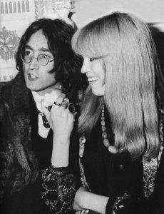 John and Amanda Lear. 1968