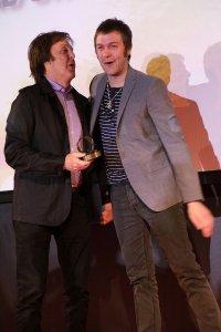 25 октября 2010 Grosvenor House, Лондон Пол на вручении премии журнала Q.