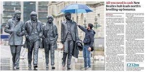 Правительство поддержало 2 млн фунтами новый аттракцион в Ливерпуле, связанный с The Beatles. Проект секретно разрабатывается с 2017 года. Мы не хотим, чтобы это был обычный музей, где смотрят на трусы Джона Леннона под стеклом. Посетители должны быть полностью вовлечены.