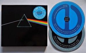 Pink Floyd - 2CD The Dark Side Of The Moon(RE 2011)  ремастированный альбом + концерт 1974 г.