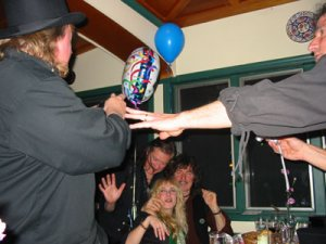 Photos From RITCHIE BLACKMORE's 60th Birthday Celebration Posted Online - Apr. 18, 2005