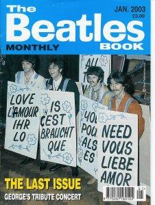 Последний выпуск Beatles Monthly - Jan. 2003 - посвящён The Concert For George>