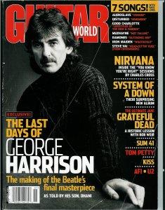 Guitar World -про Джоржа и его последний альбом со слов Дхани