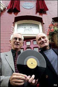 Plaque marks Quarrymen recording