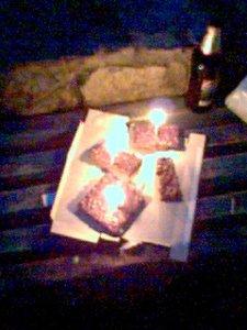 Ещё один тортик, со свечками!