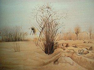 Имею честь представить действительно замечательного художника с необычной судьбой.Акоп Акопян родился в 1923 году в Александрии в Египте в семье ремесленика.В 9 лет родители отправили его учиться в армянскую школу на Кипр.Позже,обнаружив незаурядный талант к рисованию, он поступил в Каирскую Академию искусств.В 1952 году он уехал учиться в Париж.Через год в Будапеште на фестивале молодежи и студентов сбылась его мечта.Его пригласили жить на историческую родину -в Армению.