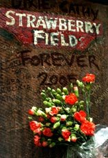 Strawberry Field forever - but as the Boiler Room Oct 3 2005