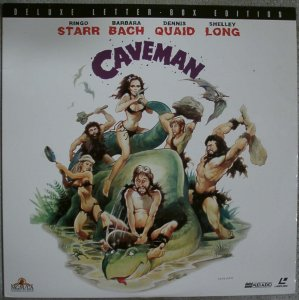Ringo Starr & Barbara Bach in Caveman